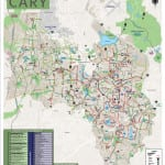 Bike and Hike Map of Cary