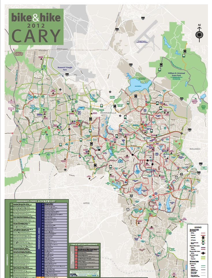 cary parks bike trails and greenways the best cary neighborhoods